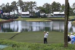 Foro 17, i giocatori, TPC Sawgrass, Florida Fotografie Stock Libere da Diritti