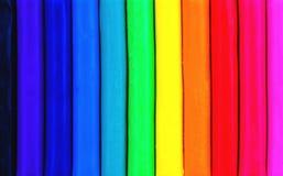 Foro blu del metallo o fondo perforato di griglia Fotografia Stock Libera da Diritti