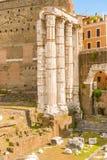 Foro de Augustus en Roma, Italia Imágenes de archivo libres de regalías