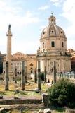 Foro de Roma - Italia Fotos de archivo libres de regalías