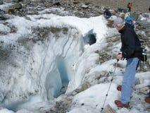 Foro del ghiacciaio di Laughton Immagine Stock Libera da Diritti