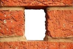Foro del muro di mattoni Immagine Stock
