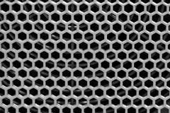 Foro del poligono strutturato Fotografia Stock Libera da Diritti