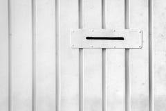 Foro della cassetta delle lettere per le lettere Fotografie Stock Libere da Diritti
