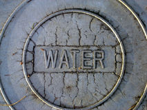 Foro di acqua Immagine Stock
