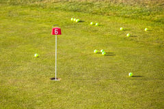 Foro di addestramento sul campo da golf Immagine Stock Libera da Diritti