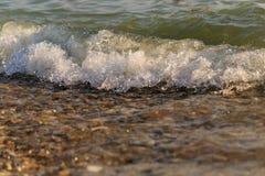 Foro di marea Spuma del mare Vacanza in mare Immagine Stock Libera da Diritti