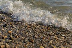 Foro di marea Spuma del mare Vacanza in mare Immagini Stock Libere da Diritti