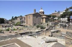 Foro di Nerva, Rzym - Zdjęcia Royalty Free