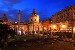 Foro Di Traiano, Rzym obrazy royalty free
