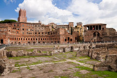 Foro di Trajano at Roma - Italy Stock Photography
