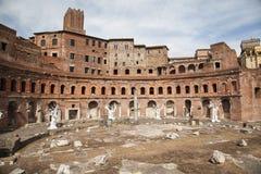 Foro di Trajano at Roma - Italy Stock Images