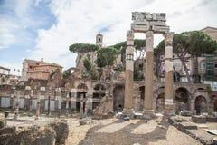 Foro di Trajano at Roma - Italy Royalty Free Stock Photo