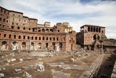 Foro di Trajano at Roma - Italy Royalty Free Stock Images