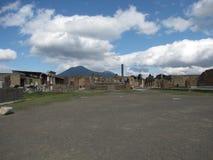 Foro en Pompeii Fotografía de archivo libre de regalías