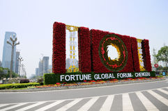2013 foro global de la fortuna, Chengdu Imagenes de archivo
