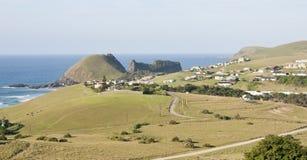 Foro nel paesaggio della parete in Sudafrica Co selvaggio Immagini Stock Libere da Diritti
