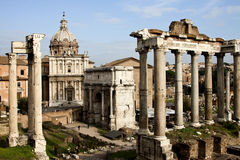 Foro Romano Royalty Free Stock Images