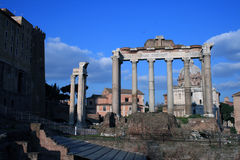 Foro Romano Stock Photo