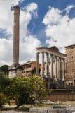 Foro romano antiguo en Grecia Imagen de archivo libre de regalías