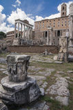 Foro romano antiguo en Grecia Imágenes de archivo libres de regalías