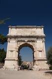 Foro romano. Arco de Titus Imagenes de archivo