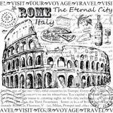 Foro romano del Th Imagen de archivo libre de regalías