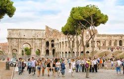 Foro romano del Th Imágenes de archivo libres de regalías