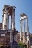 Foro romano en Roma Imagenes de archivo