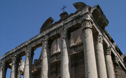 Foro romano, Italia. Fotografía de archivo