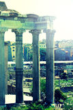Foro romano Stock Images