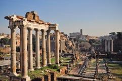 Foro romano, Roma, Italia Imágenes de archivo libres de regalías