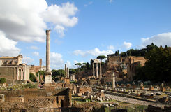 Foro Romano in Rome / Italy Stock Photo