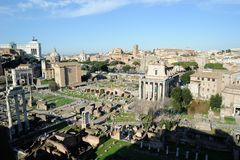 Foro romano in Rome Stock Images