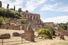 Foro Romano in Rome, Italy Royalty Free Stock Images