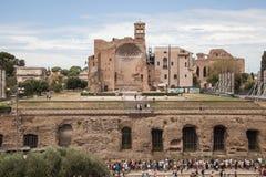 Foro Romano in Rome, Italy Royalty Free Stock Photos