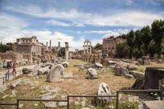 Foro Romano in Rome, Italy Stock Images