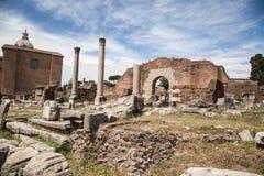 Foro Romano in Rome, Italy Stock Image