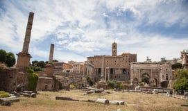 Foro Romano in Rome, Italy Stock Photography
