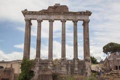 Foro Romano in Rome, Italy Royalty Free Stock Photography