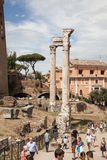 Foro Romano in Rome, Italy Royalty Free Stock Images