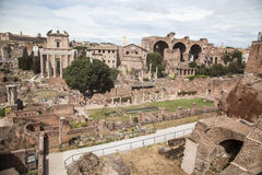 Foro Romano in Rome, Italy Royalty Free Stock Photography