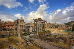 Foro Romano. Rome. Italy. Royalty Free Stock Photos