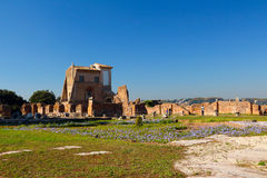 Foro Romano. It's ancient Rome city center, including some of the oldest and the most important Roman architecture Stock Image