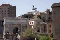 Foro Romanum Fotografía de archivo