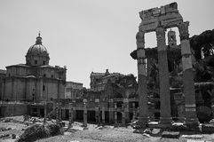 Foro Romanum Royalty Free Stock Photos