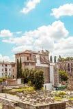 Foro Romanum Imagenes de archivo