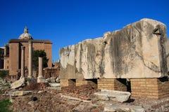 Foro Romanum Imágenes de archivo libres de regalías