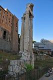Foro Romanum en Roma Imagen de archivo libre de regalías