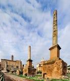 Foro Romanum, Roma Fotografía de archivo libre de regalías